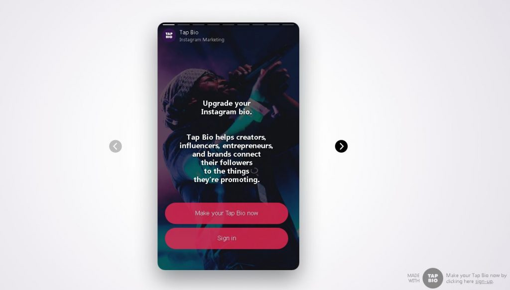 7 Aplikasi Bisnis Online Seperti Linktree Untuk Bio Instagram Anda shorby swipop contactinbio tapbio campsite